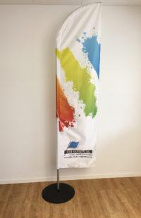 Art Fahnen: Beachflag Sunny