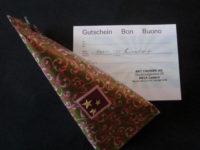 Geschenkgutscheine von Art Fahnen AG
