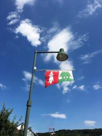 Beflaggung der Gemeinde Hochwald SO durch Art Fahnen AG