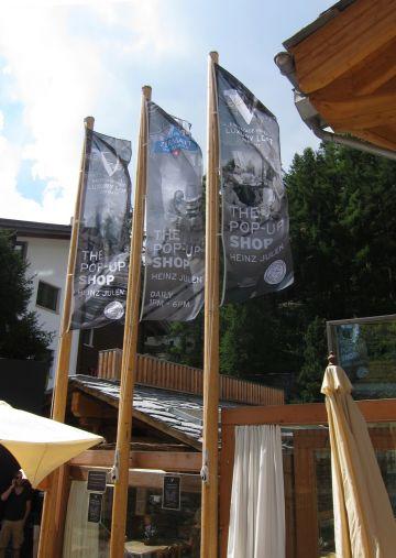 Art Fahnen AG: Holzmasten