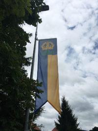 Beflaggung der Gemeinde Riggisberg BE durch Art Fahnen AG
