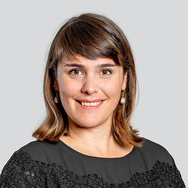 Team der Art Fahnen AG: Rita Inderbitzin