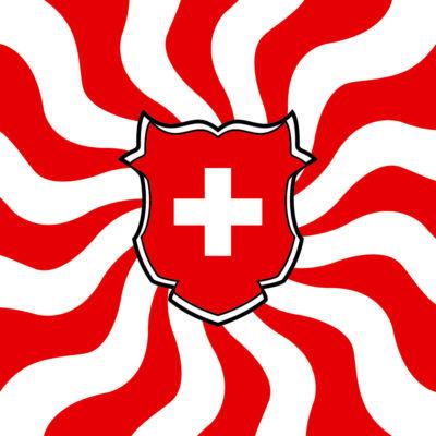 Art Fahnen AG: Schweizerfahnen gedruckt geflammt