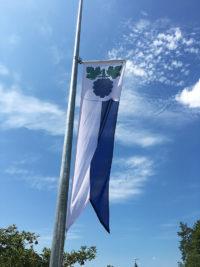 Beflaggung der Gemeinde Thalheim AG durch Art Fahnen AG
